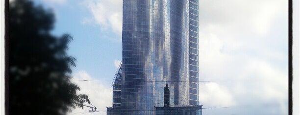 "Swedbank ""Ķīpsala"" | Swedbank centrālā ēka is one of Foursquare LV BrandPages HQ."