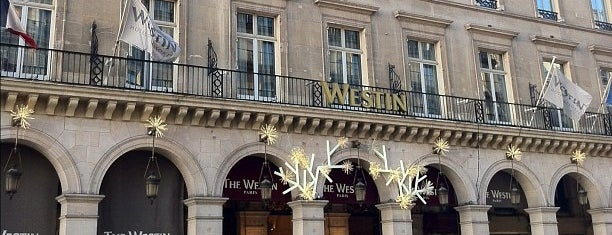 The Westin Paris – Vendôme is one of Hotels, Resorts, Villas of the World.