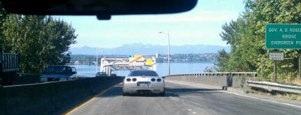 Evergreen Point Floating Bridge is one of Must-have Experiences in Seattle.