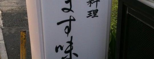 穴子料理 ます味 is one of Michelin Guide Tokyo (ミシュラン東京) 2012 [*].