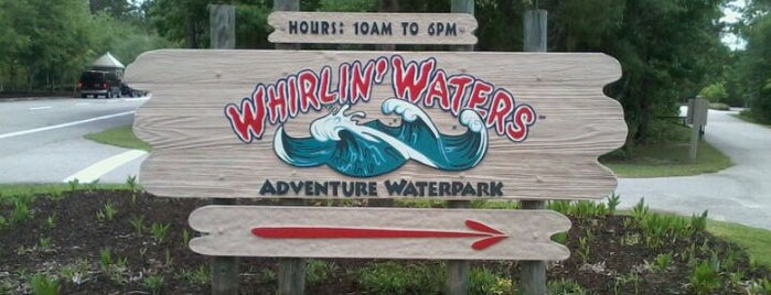 Whirlin' Waters is one of Places in the Lowcountry to take my nephew.
