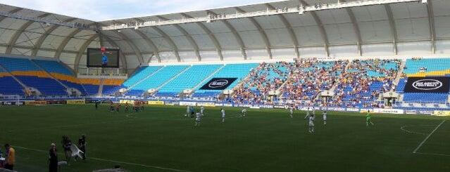 Cbus Super Stadium is one of Gold Coast.
