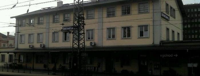 Železniční stanice Ústí nad Labem západ is one of Železniční stanice ČR: Š-U (12/14).