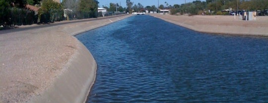 Tempe Canal is one of PHX Parks in The Valley.