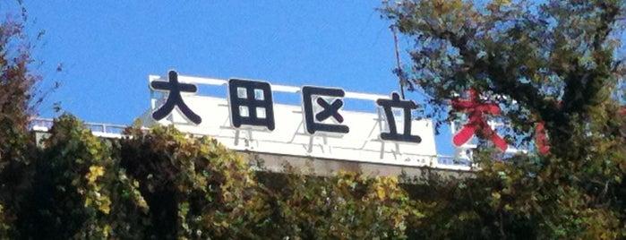 大田区立 大田図書館 is one of 歴史(明治~).