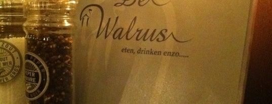 De Walrus is one of 20 favorite restaurants.