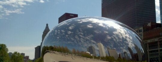 Cloud Gate is one of Two days in Chicago, IL.