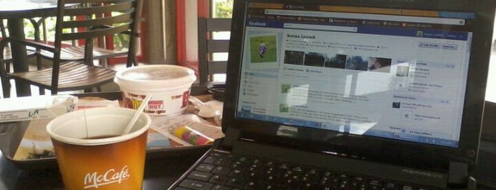 McDonald's is one of wi-fi Zone Denpasar.