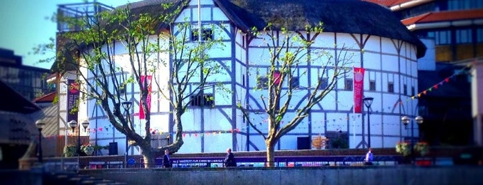 Shakespeare's Globe Theatre is one of London City Badge - London Calling.
