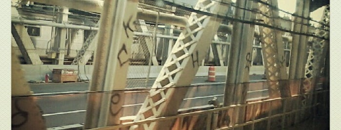 MTA Subway - Manhattan Bridge (B/D/N/Q) is one of summer'12.