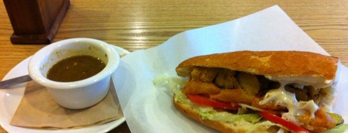 Casablanca SANDWICHERIE is one of Itaewon food.