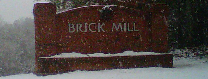BRICK Mill is one of The Chad.