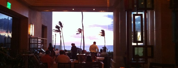 Wolfgang Puck's Spago is one of Maui's Best Eats.