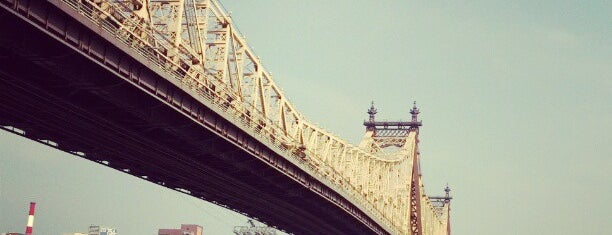 "Queensboro Bridge Pedestrian & Bike Path is one of ""Be Robin Hood #121212 Concert"" @ New York!."