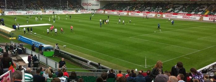 Sportpark Ronhof-Thomas Sommer is one of Stadiums.