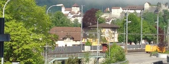 SBB Bahnhof Aarburg-Oftringen is one of Bahnhöfe Top 200 Schweiz.