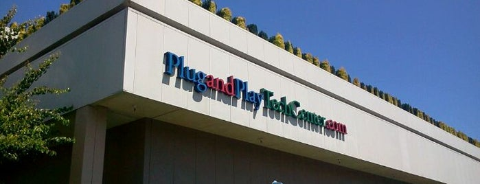 Plug And Play Tech Center is one of A Visitors Guide to Silicon Valley by Steve Blank.