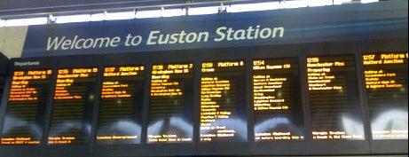London Euston Railway Station (EUS) is one of My United Kingdom Trip'09.