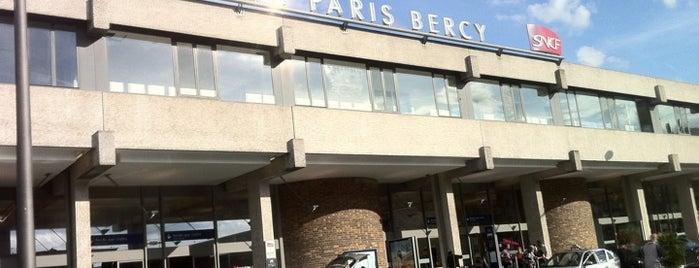 Gare SNCF de Paris Bercy Bourgogne – Pays d'Auvergne is one of Travail.