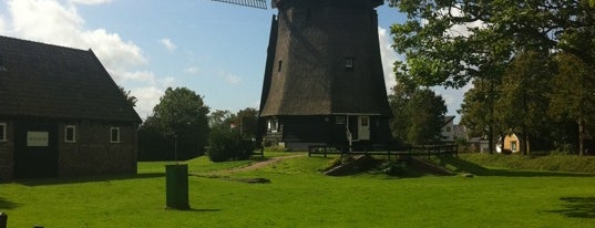 Molen Polder Waarland is one of Dutch Mills - North 1/2.
