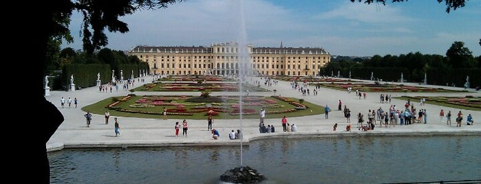 Schloss Schönbrunn is one of My Wien.