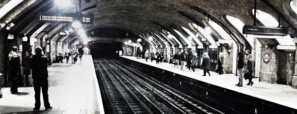 Baker Street London Underground Station is one of London City Badge - London Calling.