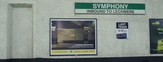 MBTA Symphony Station is one of Boston MBTA Stations.