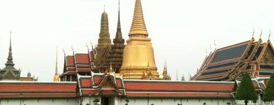 พระบรมมหาราชวัง (The Grand Palace) is one of Bangkok (กรุงเทพมหานคร).