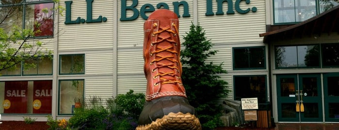L.L.Bean is one of Shopping.