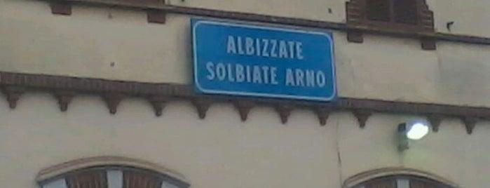 Stazione Albizzate is one of Linee S e Passante Ferroviario di Milano.