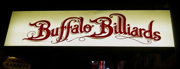 Buffalo Billiards is one of Austin's Best Sports Bars - 2012.