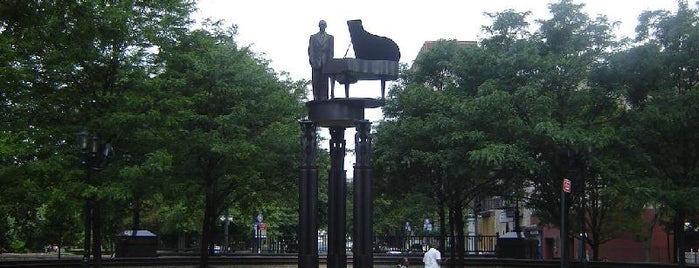 Duke Ellington Memorial by Robert Graham is one of Central Park Monuments & Memorials Tour.