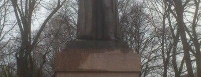 Mihaela de Tolli piemineklis is one of Monuments and Sculptures of Riga.