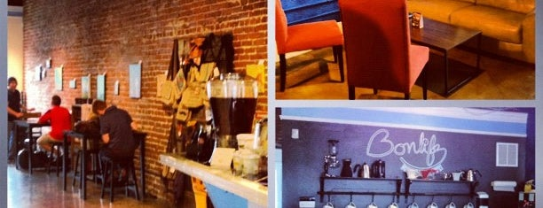 BonLife Coffee is one of Caffeinated in Cleveland.