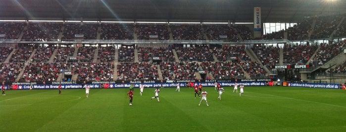 Roazhon Park is one of Stades de Ligue 1.