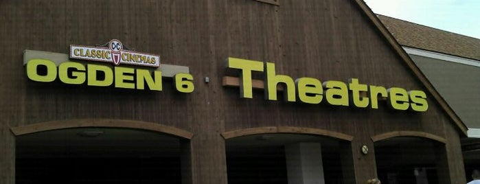 Classic Cinemas Ogden 6 is one of Top picks for Movie Theaters.