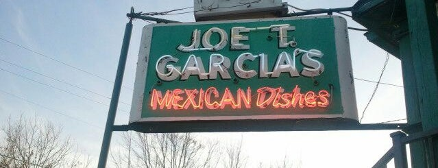 Joe T. Garcia's is one of Cowtown Restaurant Run.