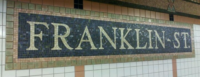 "MTA Subway - Franklin St (1) is one of ""Be Robin Hood #121212 Concert"" @ New York!."