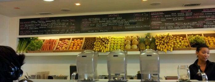 Noio Juice is one of Vegan Eats in Rome.