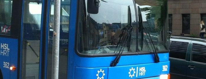 HSL Bussi 21V is one of Public transportation.