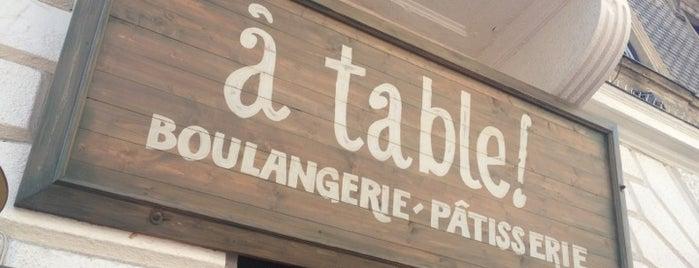 à table! is one of Budapesti egészséges helyek.