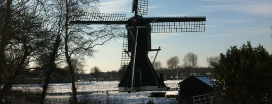 Schotveense Molen is one of Dutch Mills - North 1/2.