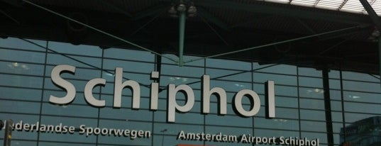 Amsterdam Airport Schiphol (AMS) is one of Airports of the World.