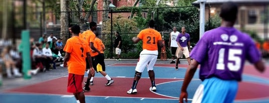 McLaughlin Park is one of Best pick up basketball courts in NYC.