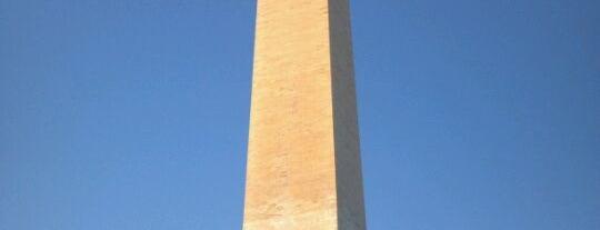 Washington Monument is one of Washington D.C..
