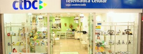 CTBC - Telemática Celular is one of Shopping Uberaba.
