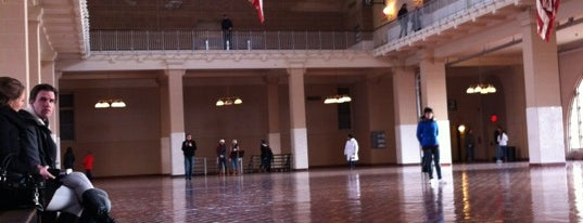 Ellis Island is one of Want to visit.