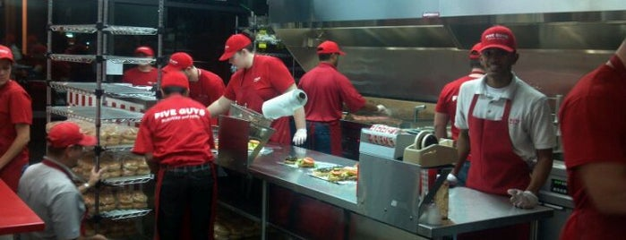 Five Guys is one of Best Burger Joints.