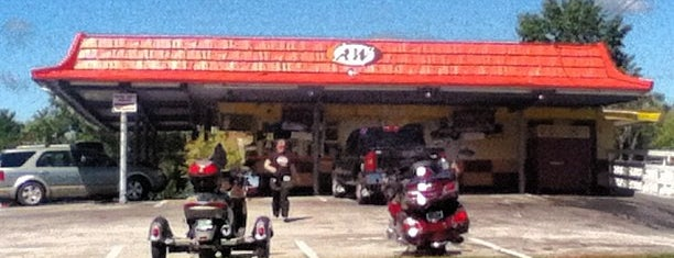 A&W All American Food is one of Town hangouts for students.