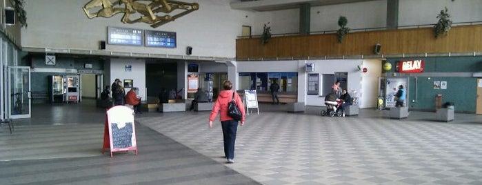 Železniční stanice Havlíčkův Brod is one of Železniční stanice ČR: H (3/14).